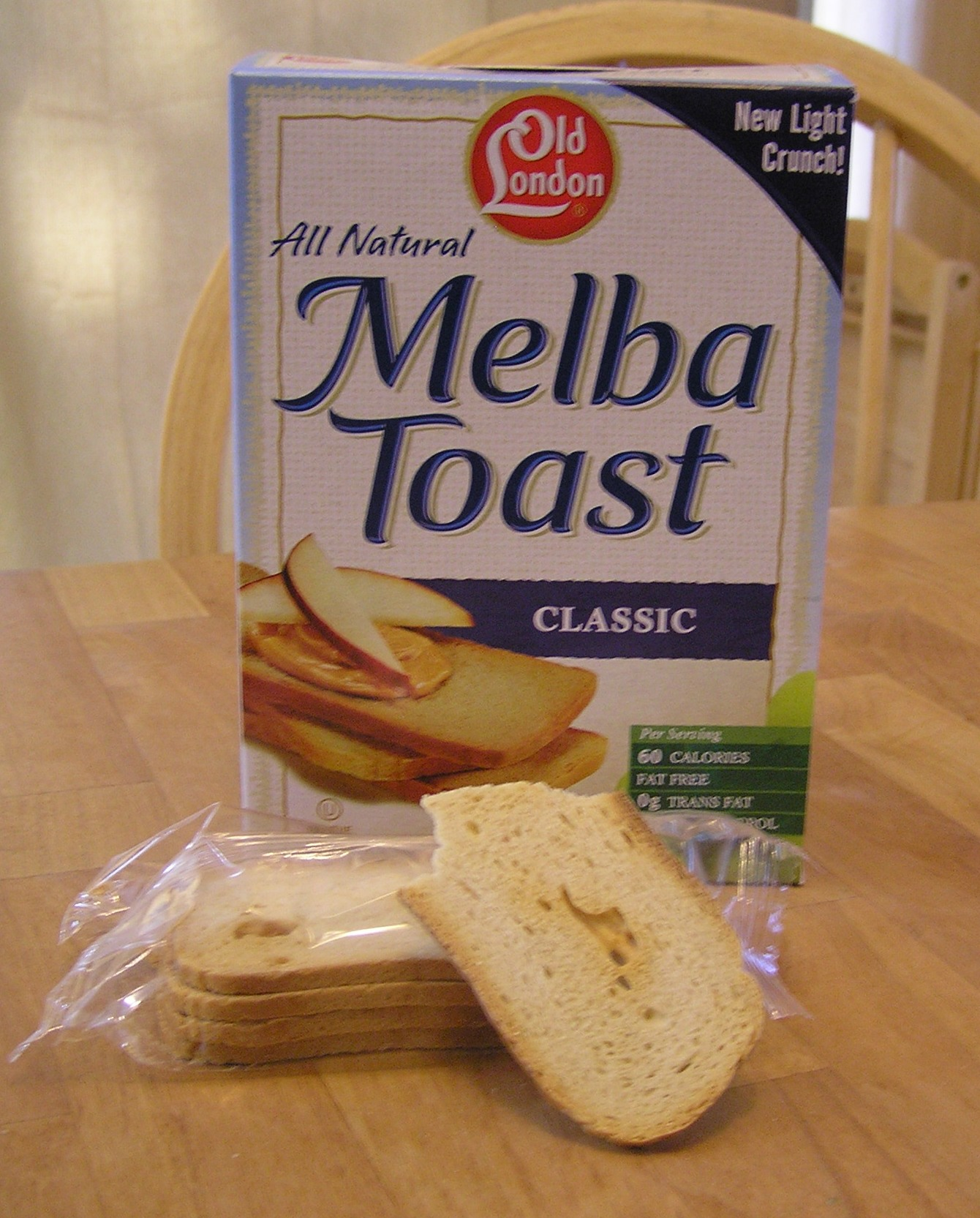 Melba Toast And Space Sticks