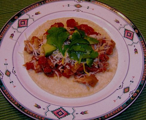 Crock Pot Pork Taco