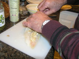 Dungeness Crab Stuffing