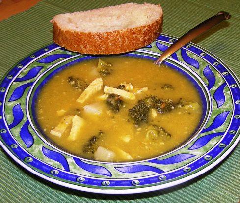 Chicken, Broccoli, and Potato Soup