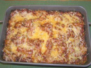 Cooked Lasagna