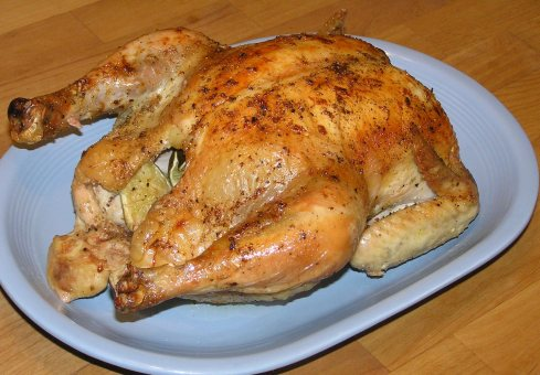 Tarragon Lime Roasted Chicken