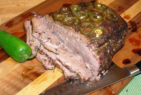 Carved Texas Beef Brisket