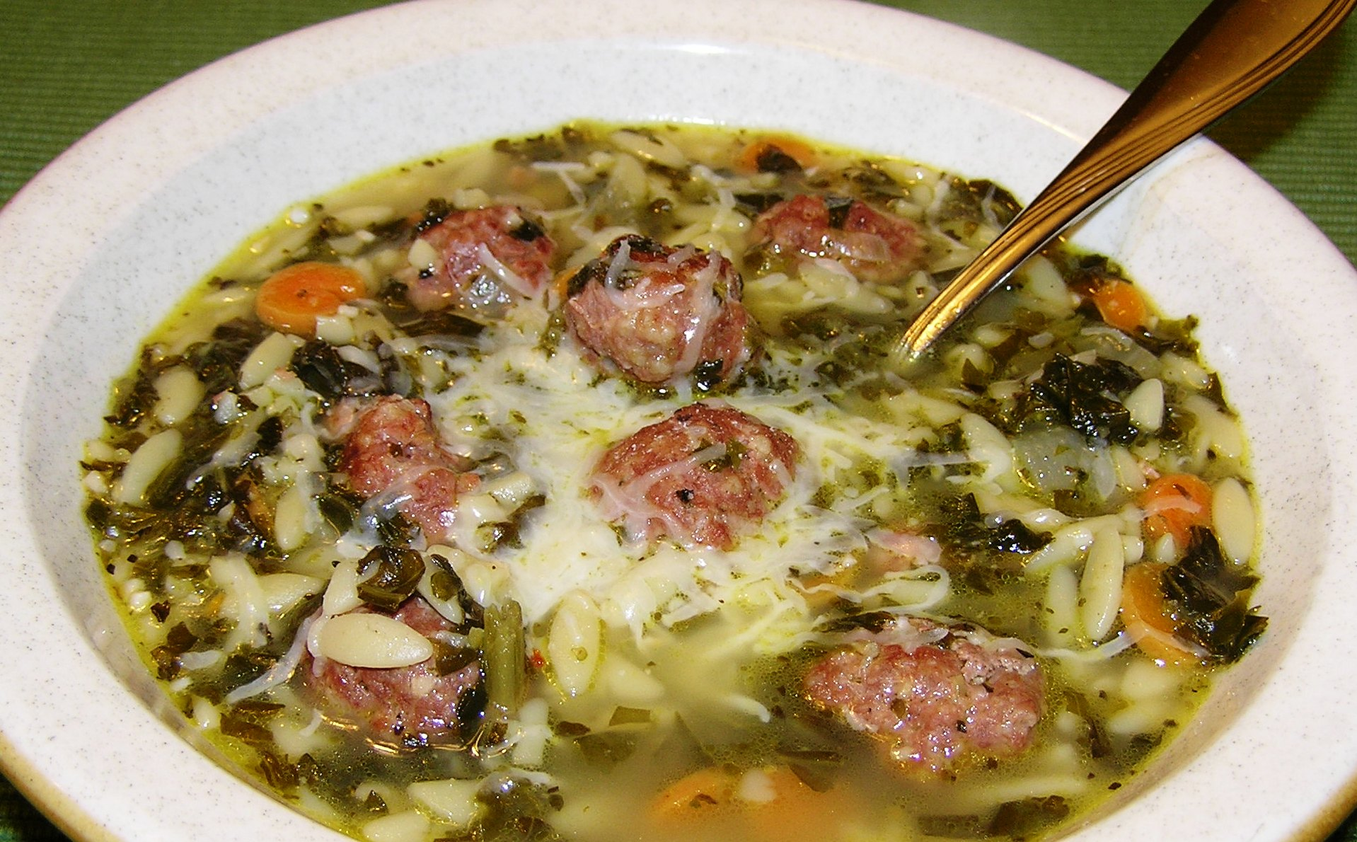Italian Wedding Soup for Rainy Day Blues | anotherfoodieblogger