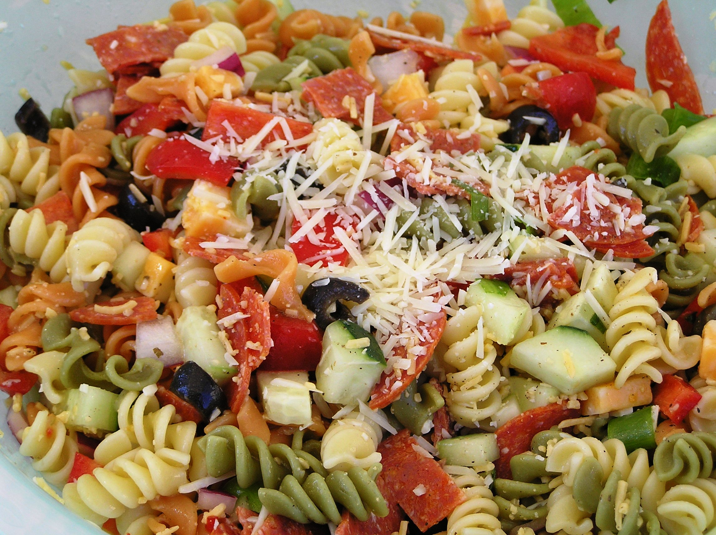 Pepperoni Pasta Salad | anotherfoodieblogger