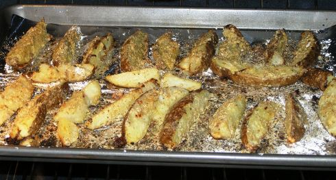 Baking Potato Wedges