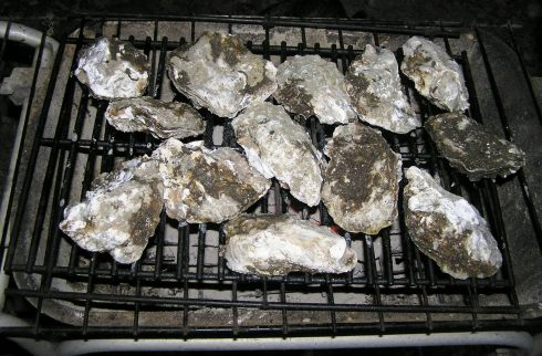 Barbecued Oysters
