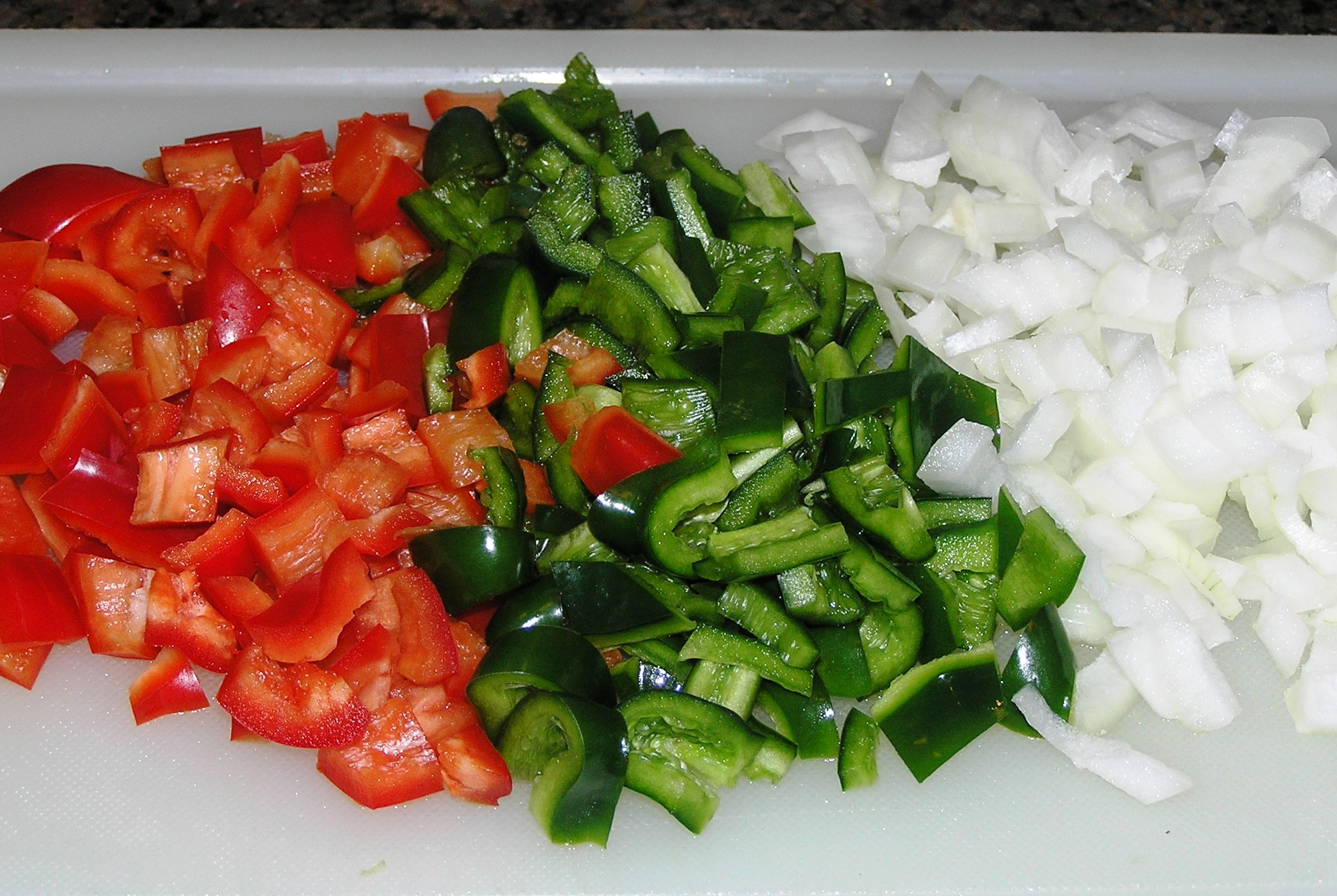 how to cook peppers and onions