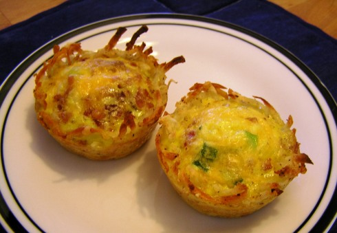 Hash Brown Egg Muffins