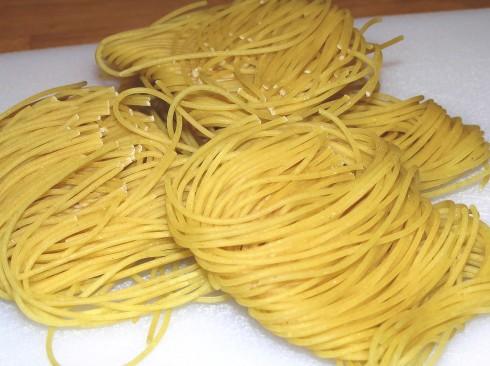 Vermicelli Noodle Coils