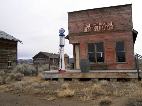 Fort Rock Ghost Town General Store and Post Office