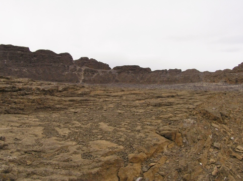 Fort Rock Moonscape