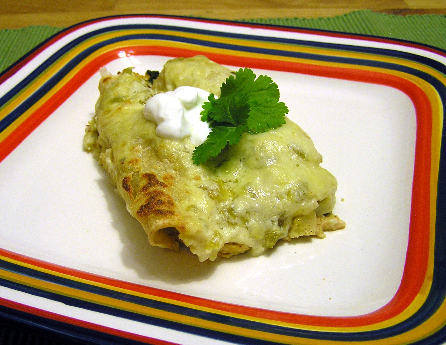 Enchiladas Suizas With Chicken Recipes — Dishmaps