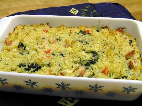 Hash Brown, Ham and Spinach Casserole 3