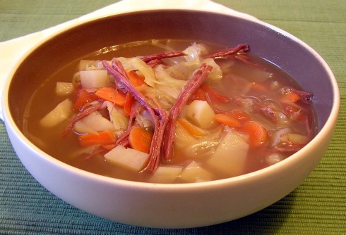 Healthy Leftover Corned Beef, Cabbage, and Potato Soup 2