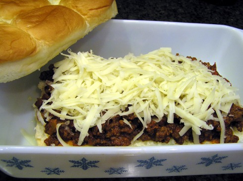 Sloppy Joes Ready to Top