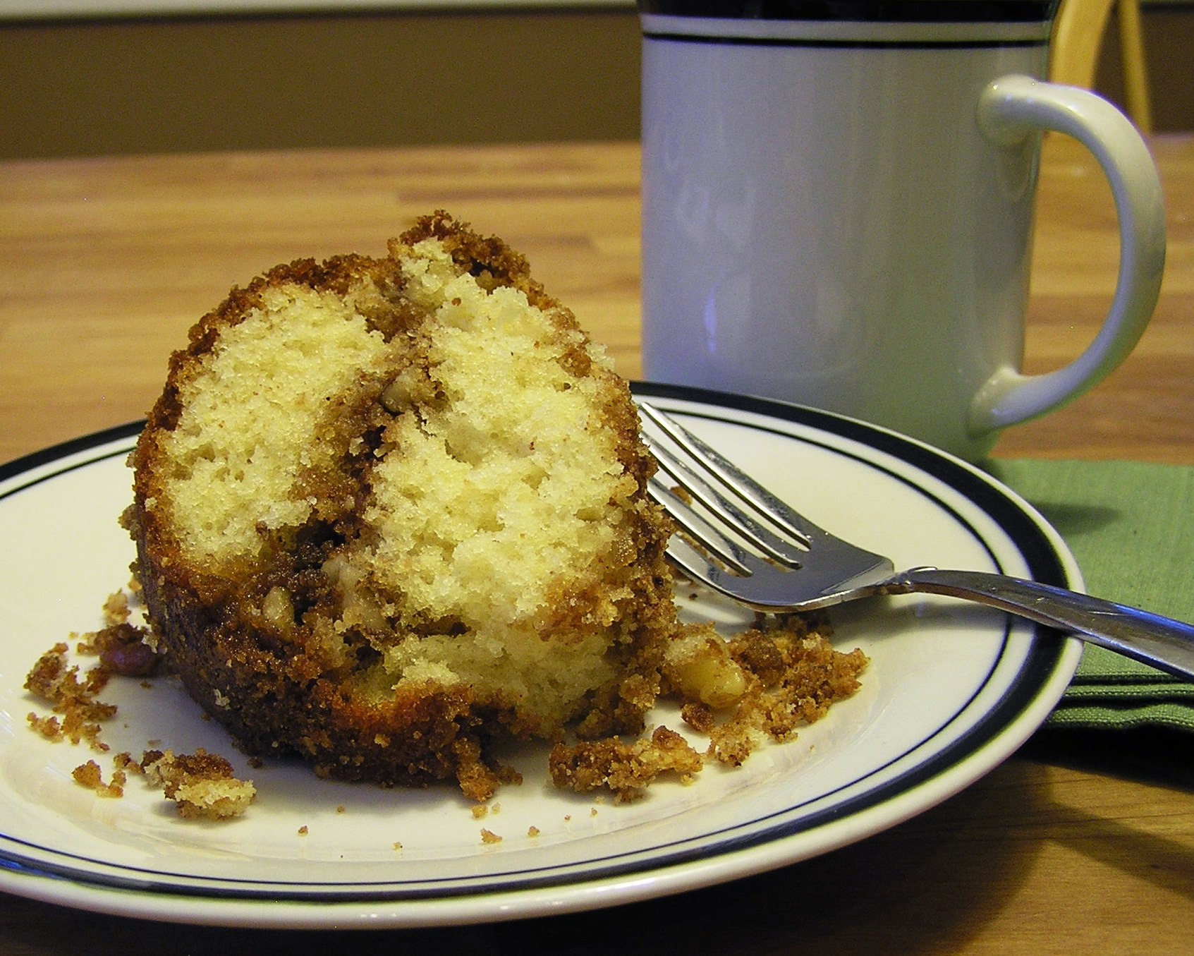 Starbucks Banana Chocolate Chip Coffee Cake