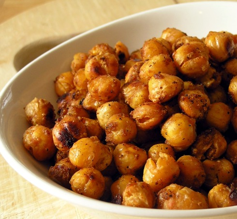Toasty Roasted Chickpeas... drool