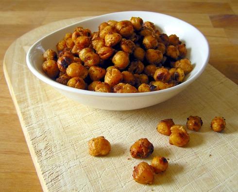 Toasty Roasted Chickpeas (Garbanzo Beans), Cajun Style