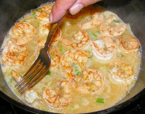 Turning the Shrimp