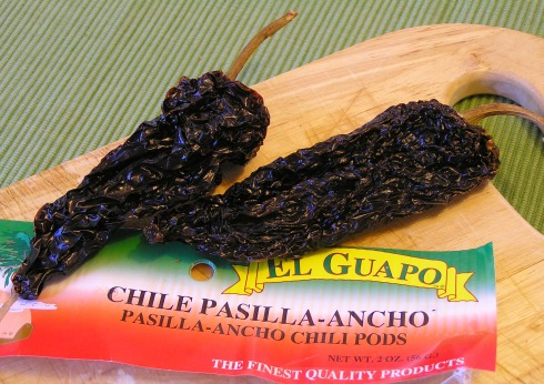 Ancho Pasilla Peppers