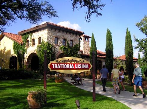 Arriving at Trattoria Lisina