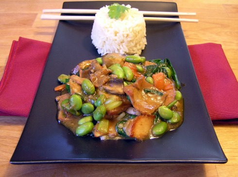 Asian Grilled-Meat Stir Fry