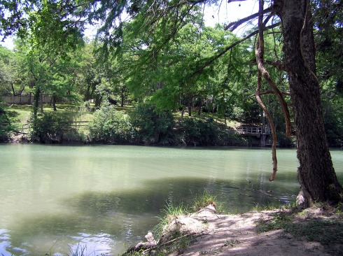 Blanco River in Wimberley