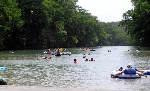 Floaters on Blanco River