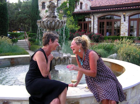 Wine and Laughs at Trattoria Lisina Fountain