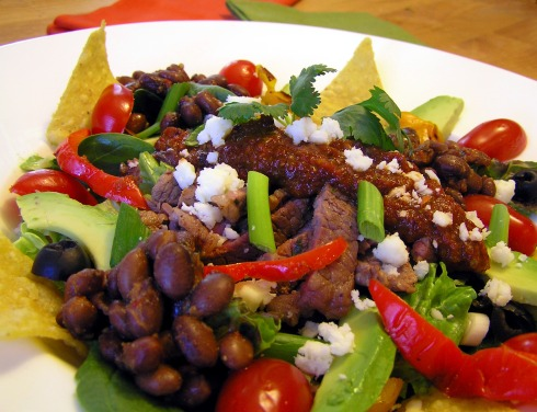 Zesty Grilled Southwest Steak Salad