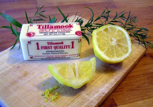 Butter, Lemon, and Tarragon