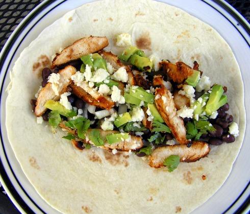 Chicken Fajita Taco