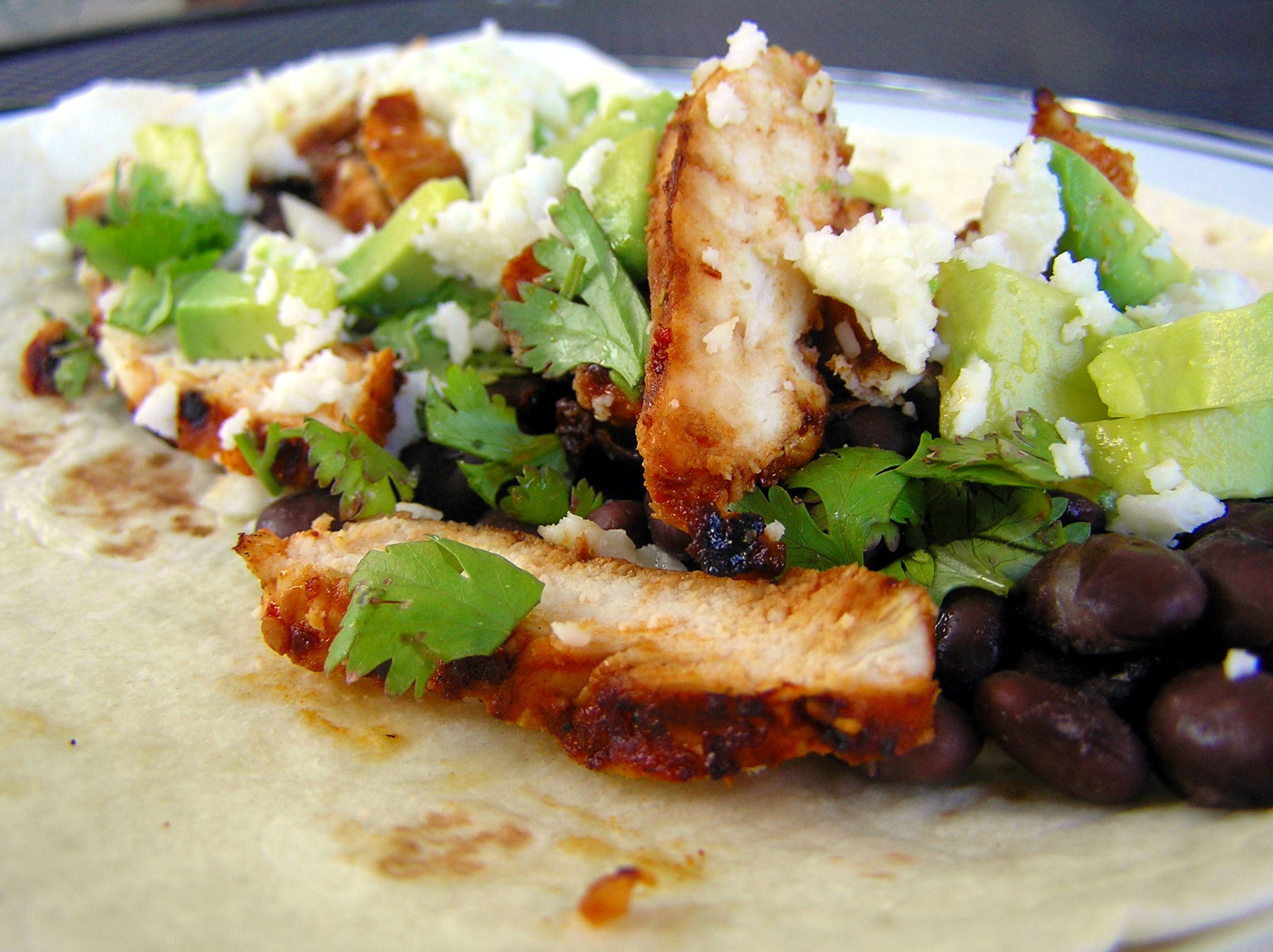 Spicy Grilled Chicken Tacos | anotherfoodieblogger