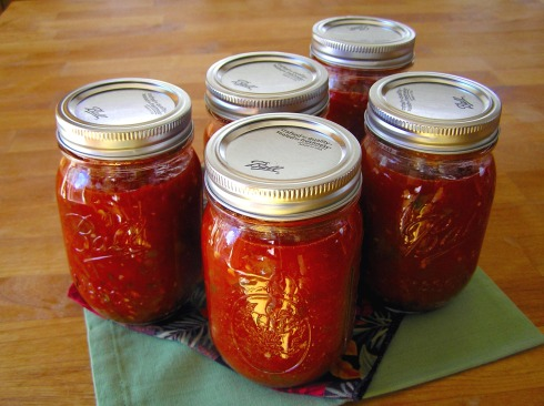 Canned Fire-Roasted Tomato Salsa