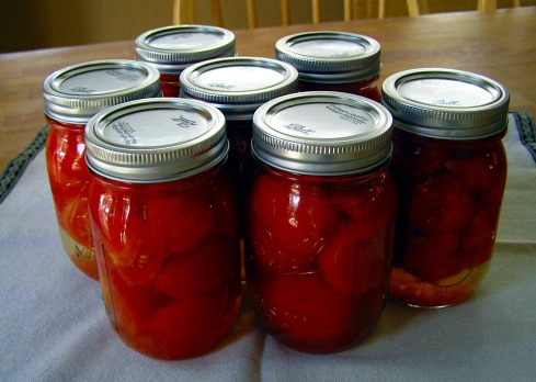 Canned Fresh Tomatoes