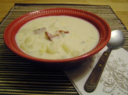 Creamy Fish Chowder with Corn and Potatoes