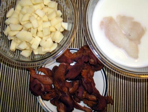 Fish Chowder Ingredients