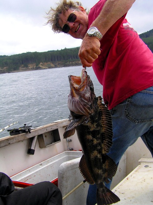 Stan and his Ling Cod
