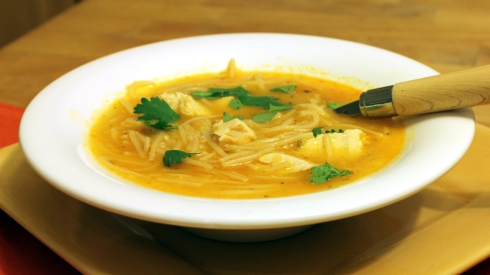 Chicken Fideo Soup