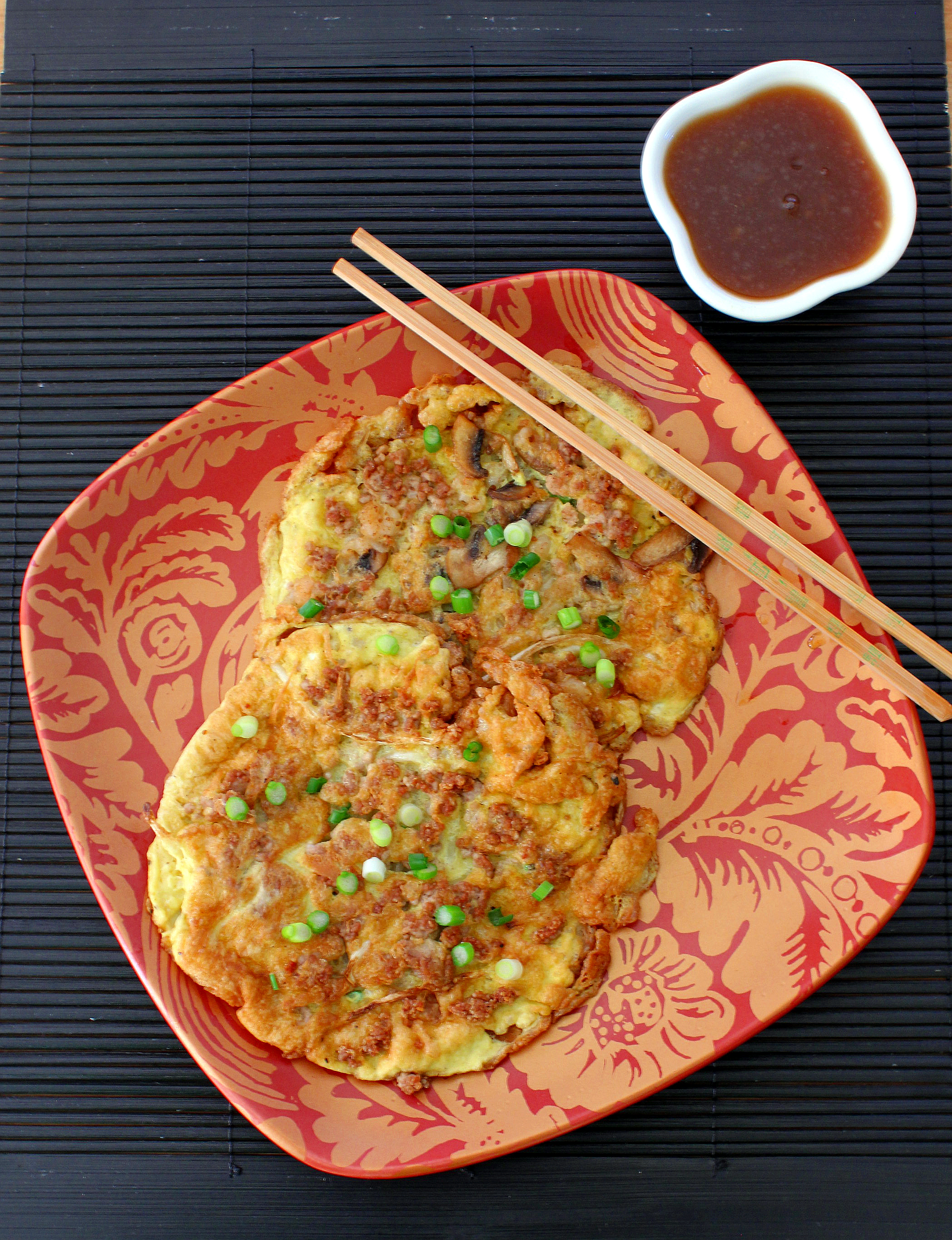 Egg Foo Young ~ With all the Fixin's or Vegetarian!