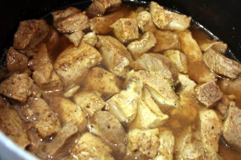 Simmering Pork