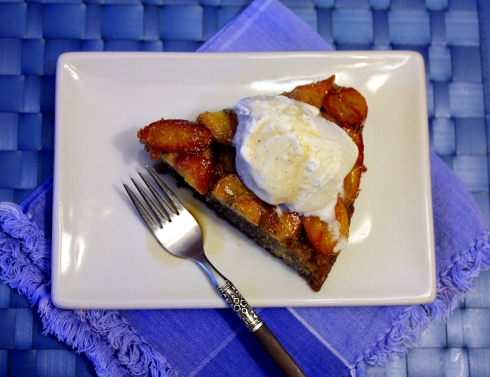 Coffee-Infused Upside Down Banana Baba au Rhum