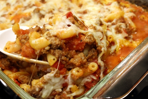 Cheesy Baked Goulash