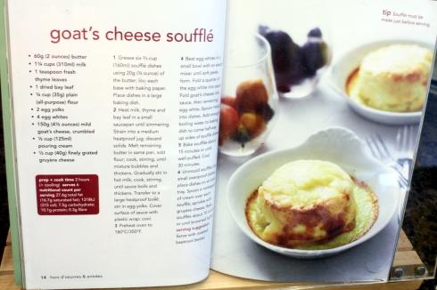 Goat Cheese Souffles Recipe — Dishmaps