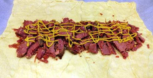 Mustard on Corned Beef