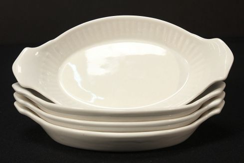 Oval Souffle Dishes