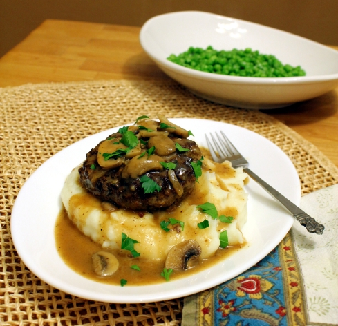Salisbury Steak Dinner