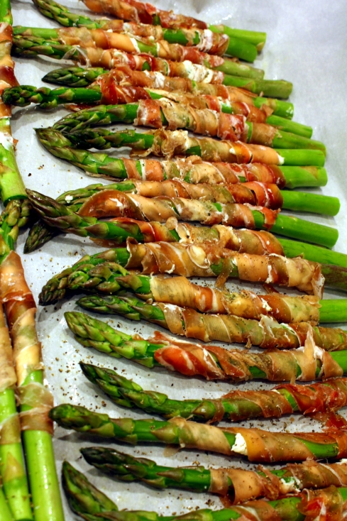 Asparagus Ready to Bake
