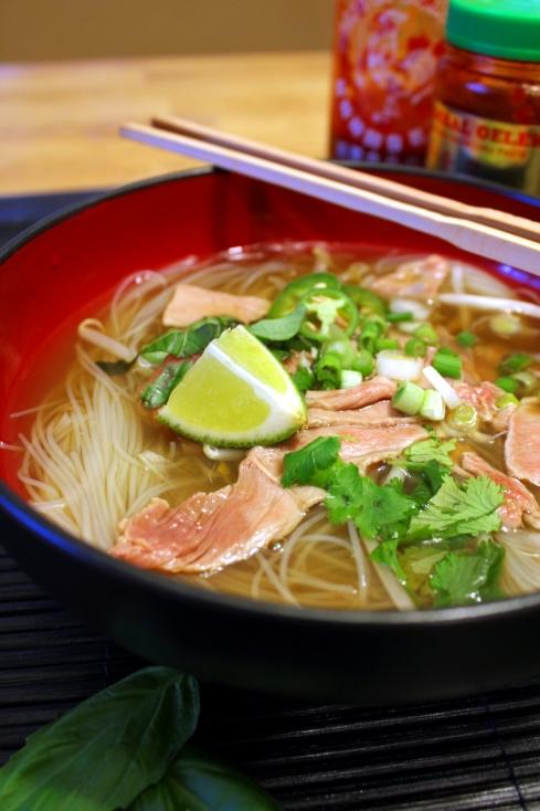 Cheater Pho Bo Vietnamese Noodle Soup